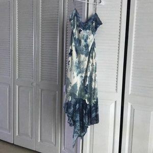 Christian Dior long dress matching shoes.